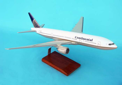 Continental 777-200 1/100  - Continental Airlines (USA) - Museum Company Photo