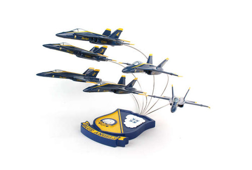 F/A-18 Blue Angels 6 Plane Formation 1/72  - US Navy Blue Angels - Museum Company Photo