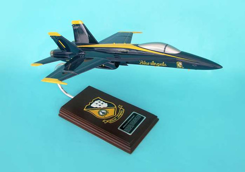 F/A-18a Blue Angels Navy 1/38  - US Navy Blue Angels - Museum Company Photo