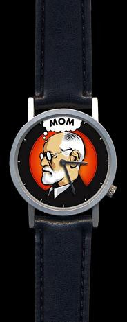 Freudian Thoughts Watch - Mind of Sigmund Freud - Photo Museum Store Company