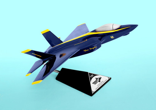 F-35c Blue Angels 1/40  - US Navy Blue Angels - Museum Company Photo