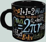 Math Mug - Famous Formula & Equations Mug - Photo Museum Store Company
