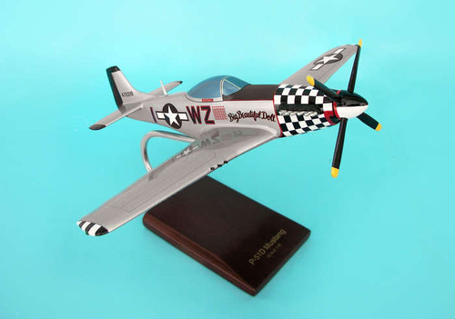 P-51d Mustang 1/32  - US ARMY AIRCRAFT (USA) - Museum Company Photo