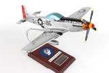 P-51d Mustang Silver Old Crow 1/24  - United States Air Force (USA) - Museum Company Photo
