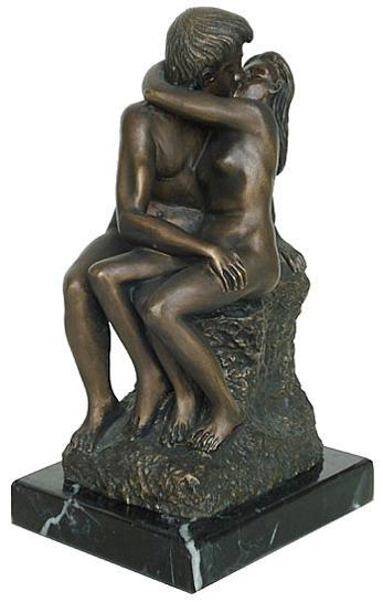 The Kiss, by Rodin : Rodin Museum, Paris, 1888-1889 - Photo Museum Store Company