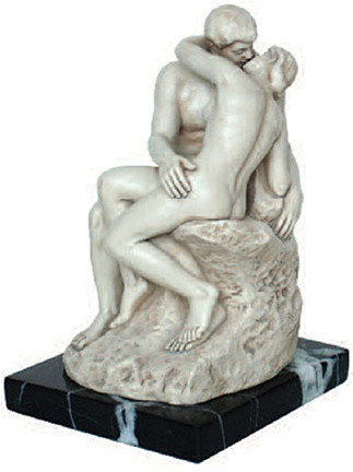 The Kiss, by Rodin : Rodin Museum, Paris, 1888-1889 - Photo Museum Store Company