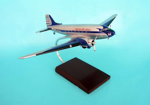 United DC-3 1/72  - United Airlines (USA) - Museum Company Photo