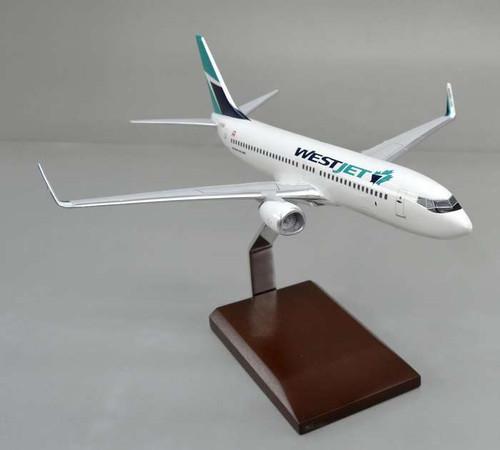 Westjet 737-800 1/100 New Livery - WestJet (Canada) - Museum Company Photo