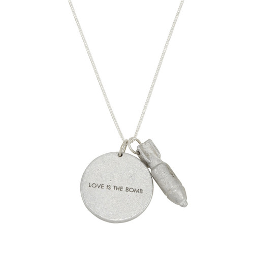 Museum Company Bomb Jewelry - Love is the Bomb Necklace