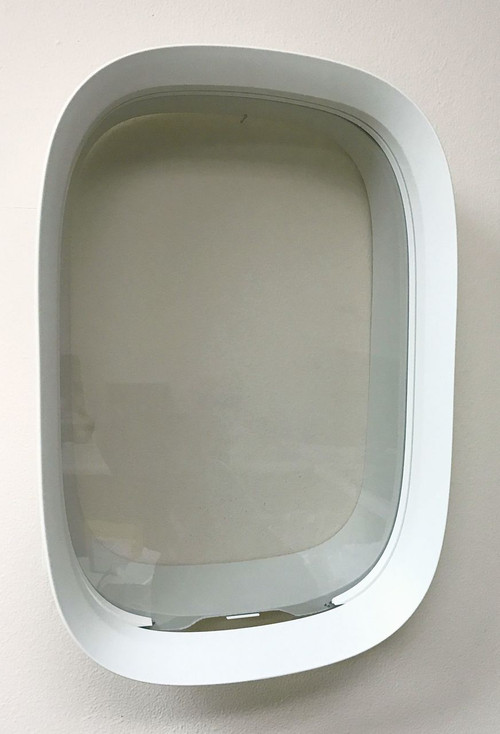 747 Airplane Windows Assembly / Portal - Plane Parts - Air & Space Collection - Museum Store Company Photo