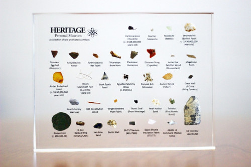 Heritage Personal Museum - Wright Flyer, Meteorite, Fossil, Coins, Artifacts - Museum Store Company Photo