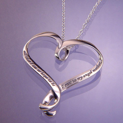 All That I Am Sterling Silver Necklace - Inspirational Jewelry Photo