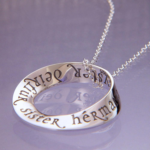 Sister Sterling Silver Necklace - Inspirational Jewelry Photo