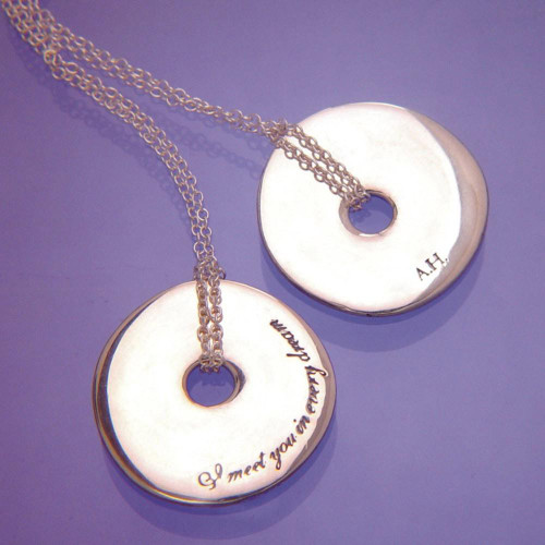 In Every Dream Sterling Silver Necklace - Inspirational Jewelry Photo