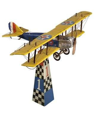 Desktop Jenny With 2 Stands - Historic Aviation & Aircraft - Photo Museum Store Company