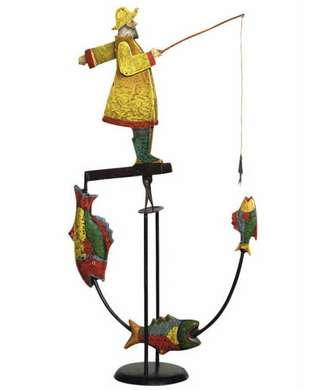 Fisherman - Balance Toy - Motion Art and Motion Sculpture - Photo Museum Store Company