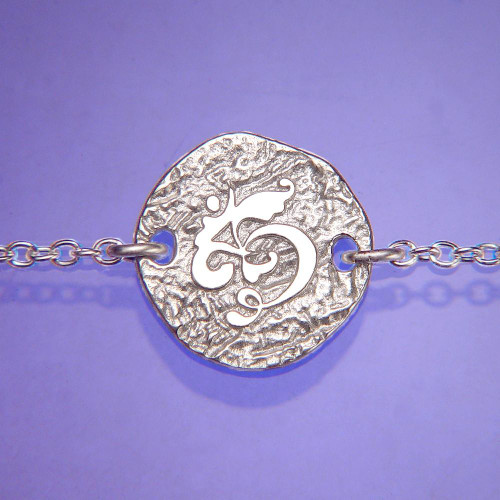Om Sterling Silver Necklace - Inspirational Jewelry Photo