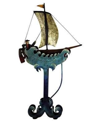 Riding The Waves - Balance Toy - Motion Art and Motion Sculpture - Motion Art and Sculpture - Photo Museum Store Company