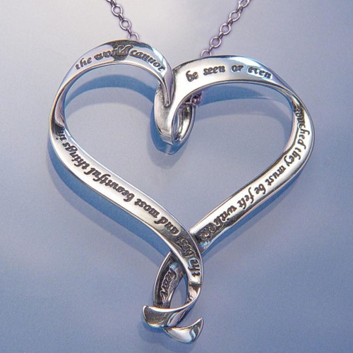 Best And Most Beautiful Sterling Silver Necklace - Inspirational Jewelry Photo