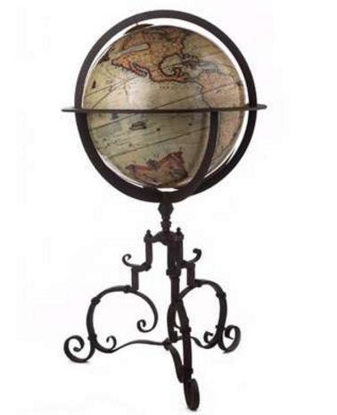 1745 Vaugondy Terrestrial Globe - Photo Museum Store Company