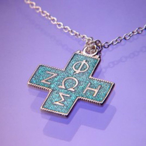 Life Cross Sterling Silver Necklace - Inspirational Jewelry Photo