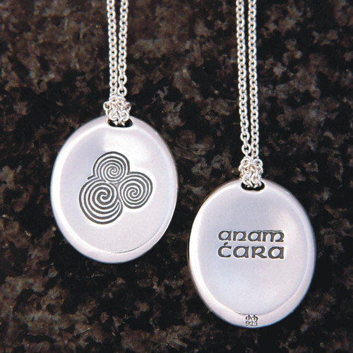 Soul Friend Sterling Silver Necklace - Inspirational Jewelry Photo