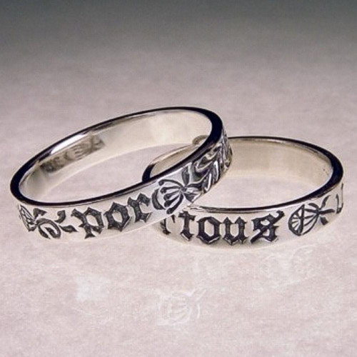 French: Forever Sterling Silver Ring - Inspirational Jewelry Photo