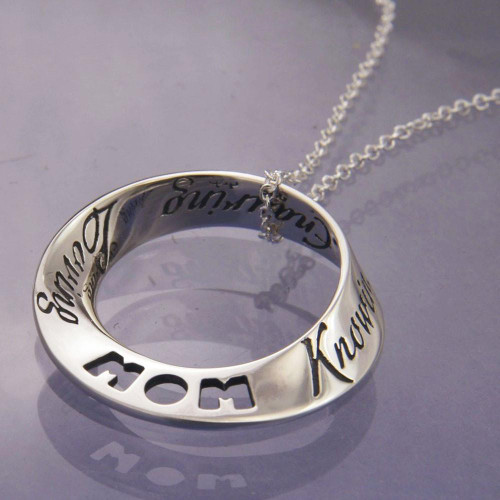 Things That Are Mom Sterling Silver Necklace - Inspirational Jewelry Photo