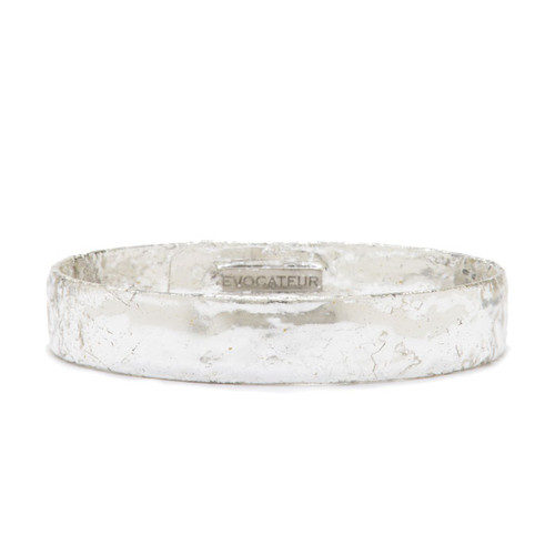 Sterling Silver Leaf Bangle - Museum Jewelry - Museum Company Photo