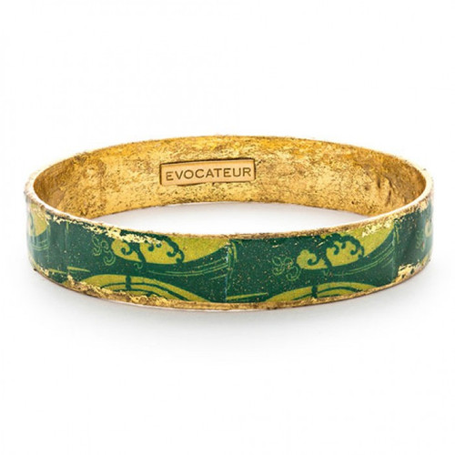 Green Wave Bangle - Museum Jewelry - Museum Company Photo