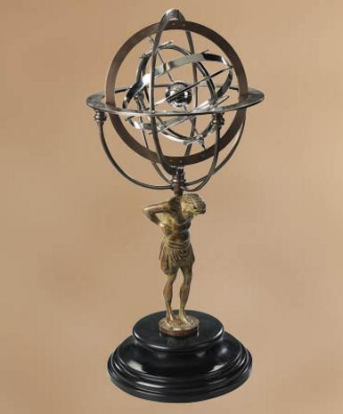 18th C. Atlas Armillary - Photo Museum Store Company