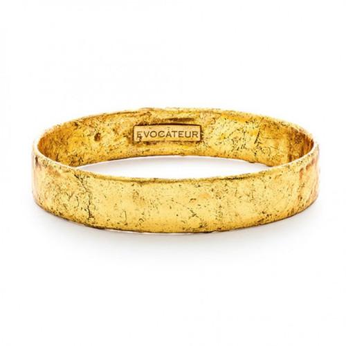 22K Gold Leaf Bangle - Museum Jewelry - Museum Company Photo