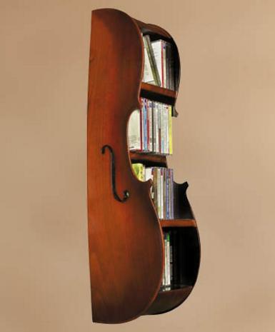 Cello CD Rack Stradivarius - Photo Museum Store Company