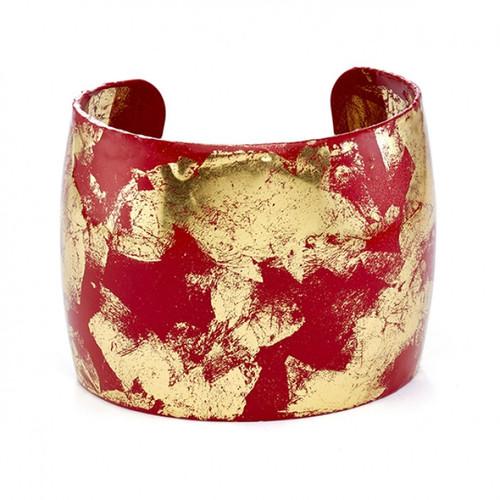 Island Cuff- Red - Museum Jewelry - Museum Company Photo
