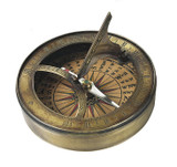18th C. Sundial & Compass - Photo Museum Store Company