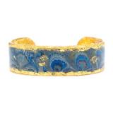 Ex Libris Aqua Cuff - Museum Jewelry - Museum Company Photo