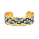 Aztec Cuff .75 inch - Museum Jewelry - Museum Company Photo