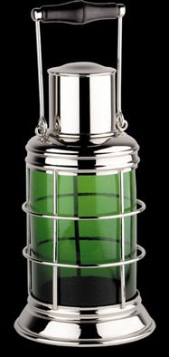 Starboard Side Light Cocktail Shaker, Green - Photo Museum Store Company