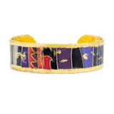 "Bordeaux Cuff - .75"" - Museum Jewelry - Museum Company Photo"