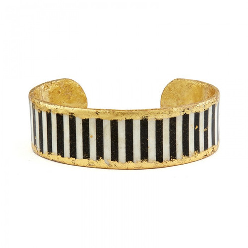 Black & White Stripes -Skinny - Museum Jewelry - Museum Company Photo