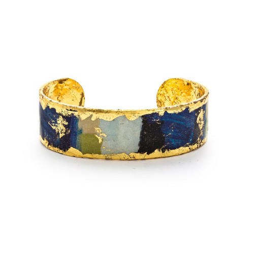 Berlin Skinny Cuff - Blue - Museum Jewelry - Museum Company Photo
