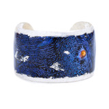 Blue Clam Cuff - Silver - Museum Jewelry - Museum Company Photo