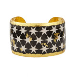 Black & White Stars Cuff - Museum Jewelry - Museum Company Photo
