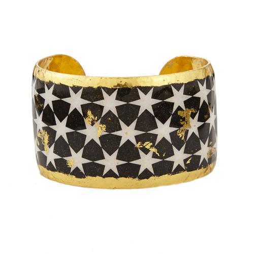 Black & White Stars Cuff - Museum Jewelry - Museum Company Photo