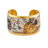Time After Time Cuff - 1.5 inch - Museum Jewelry - Museum Company Photo