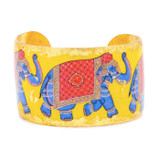 Indian Elephant Cuff - Museum Jewelry - Museum Company Photo