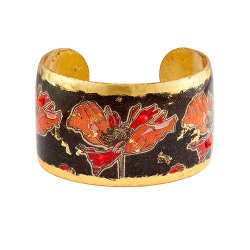 Art Deco Poppies Cuff - Museum Jewelry - Museum Company Photo