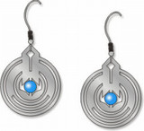 April Showers Earrings  - Frank Lloyd Wright - Photo Museum Store Company