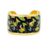 Green Orange Butterfly Cuff - Museum Jewelry - Museum Company Photo