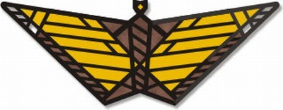 Butterfly Pin  - Frank Lloyd Wright - Photo Museum Store Company